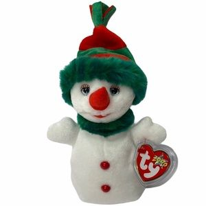 ✨3/$25 Collectable TY Beanie Baby Snowgirl Y2K